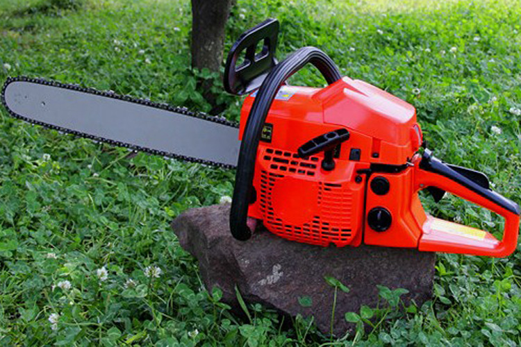 Multi Color 12 Inch Gas Chainsaw , High Power Lightweight Gas Chainsaw